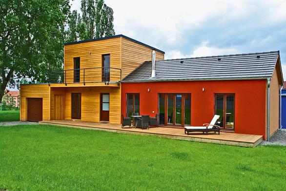 Postavte si přístavbu ze dřeva (ilustrační fotografie)