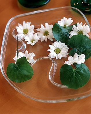 Květiny ve váze musí mít vždy volnost a prostor...