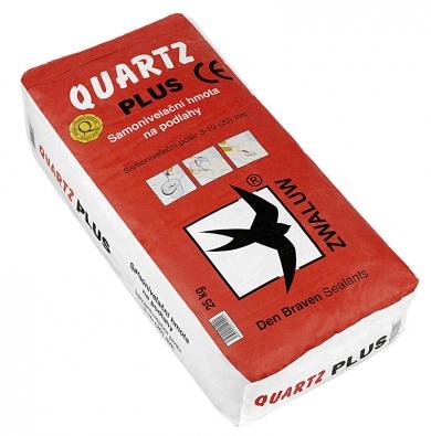 Samonivelační hmota na podlahy Quartz PLUS, cena 398 Kč/20 kg.