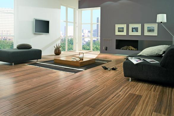 Laminátová podlaha zkolekce Piazza (Witex), dekor Zebrano africké, antistatická avoděodolná úprava, impregnace, cena 660 Kč/m² (KPP).