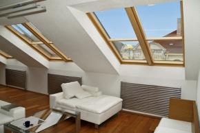 Střešní okno zlepší bydlení v podkroví