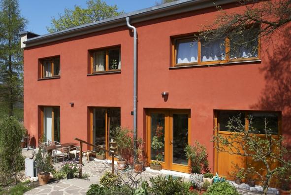 Dvougenerační dům v souladu s přírodou