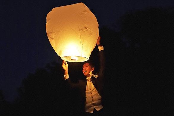Vypouštějte balonky štěstí