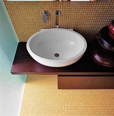 Oválné umyvadlo Even se vyrábí v několika rozměrech (AQUA TRADE).