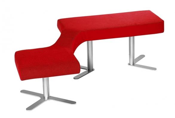 Sedák Bu.co zkolekce Ai.ro, design Jan Čtvrtník,  různá provedení, cena od 9940Kč (POLSTRIN DESIGN).