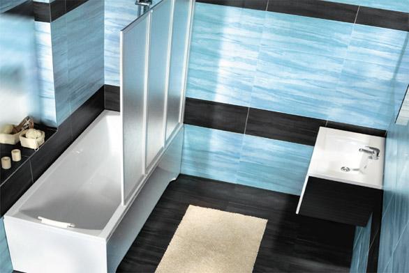 Moderní design do malé koupelny