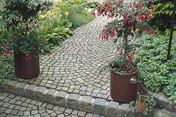 Zahrada s žulou ve všech podobách