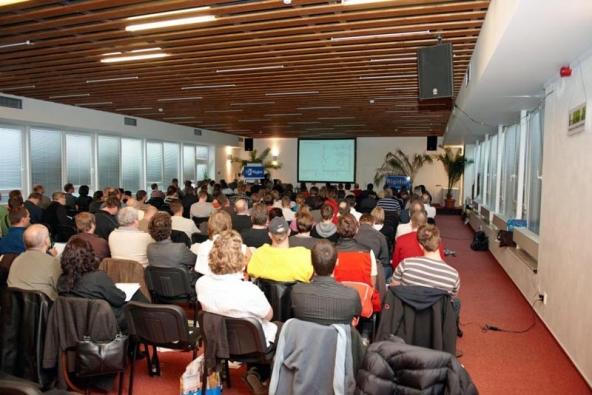 Konference Dřevostavby v praxi 5 (ilustrační fotografie). Zdroj: www.rigips.cz.