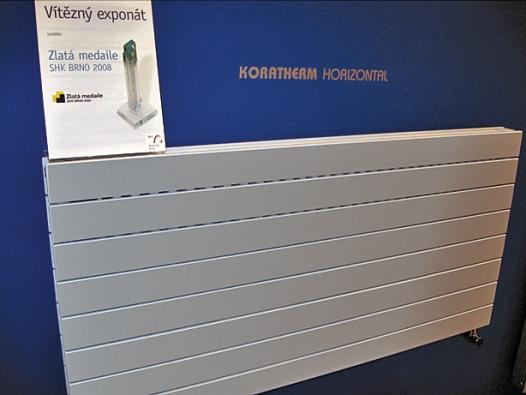 Otopné stěny Koratherm jsou produktem významně rozšiřujícím portfolio komfortních designových těles.