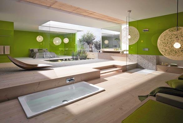 Zelená koupelna chrání přírodu