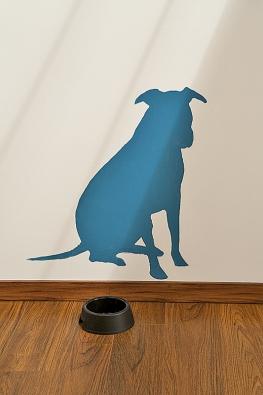 Vyfoťte si svého domácího mazlíčka apřeneste siluetu na stěnu.