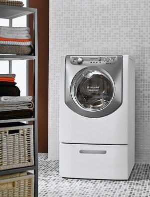 Špatně vyvážená pračka šíří vibrace pocelém domě.
