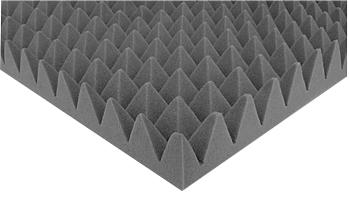 Na trhu je široký  výběr zvukově- izolačních materiálů: od tlumicích panelů po speciální rouna.