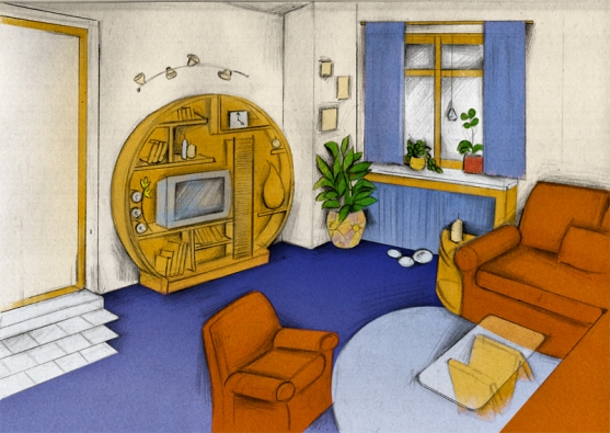 Návrh interiéru podle pravidel feng-šuej
