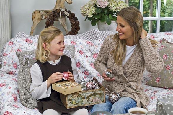 Do výzdoby vánočního domova zapojte také své děti (GREEN GATE).