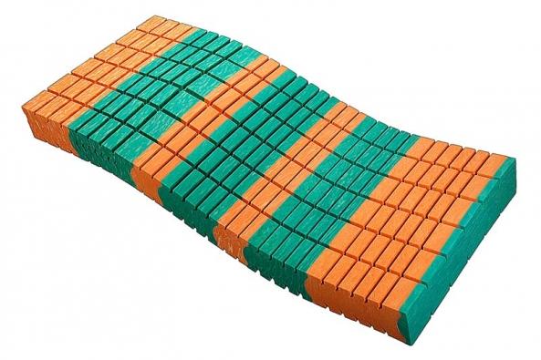 Zónová matrace NAWA Mystery, cena (90 x 200 x 19 cm) od 8 800 Kč (JMP – Studio zdravého spaní).