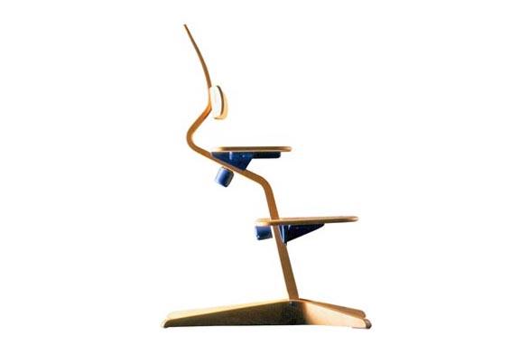 Tuto židli je možno si objednat za 6 822 Kč, ohrádku za 837 Kč a polštářek za 965 korun. Židle Tripp Trapp a Sitti prodává firma Pragonor.