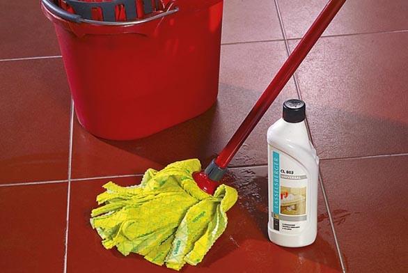Pro běžnou údržbu používejte přípravky respektující povahu materiálu.