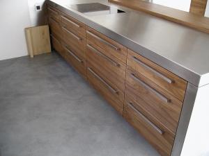 Litá podlaha do kuchyně