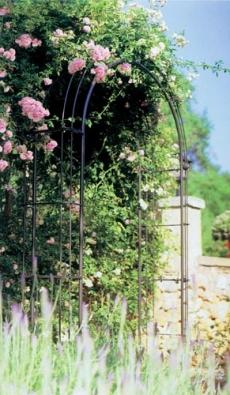 Oblouk na růže je vysoký 229 cm, široký 144 cm a hluboký 36 cm. Cena 9 490 Kč (LIFESPORT).