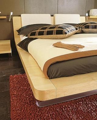 Tamis, ložnicový program, cena postele od 72 460 Kč (vyrábí HÜLSTA, dodává HOME STYLE).