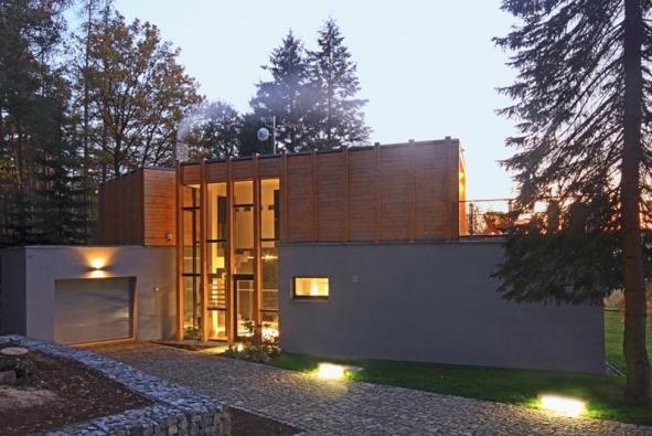 Bydlení v lesním korábu