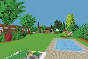 Dokonale využitá zahrada
