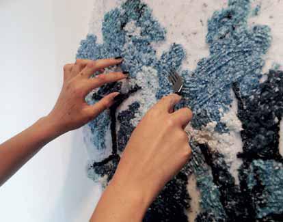 Novinkou v oblasti malířských technik jsou bavlněné stěrkové omítky Stetap a bavlněné výtvarné hmoty Vyva. Vyrábí se z čisté přírodní bavlny a mají unikátní vlastnosti: pórovitou vnitřní strukturu, elasticitu, vysokou přilnavost, stálobarevnost a dlouhou životnost (CENTRUM MALÍŘŮ).