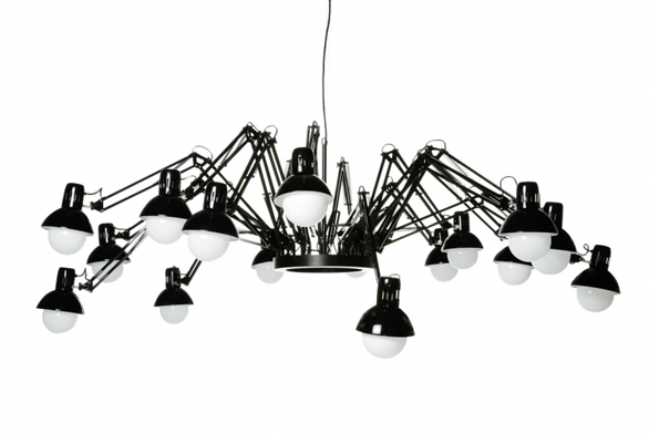 Závěsné svítidlo Dear Ingo (Mooi), design Ron Gilad.