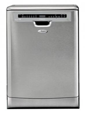 Samostatně stojící myčka Carisma ADP 7955 IX TOUCH, šířka 59,7 cm, ekovýrobek s energetickou třídou A -8 %, AA, hlučnost 42 dB, funkce 6. smysl max, 1 senzor+ a 6 programů, nerez provedení, technologie PowerClean Max s 24 speciálními rotačními tryskami v dolním koši, příborová zásuvka, cena 19 990 Kč, WHIRLPOOL.