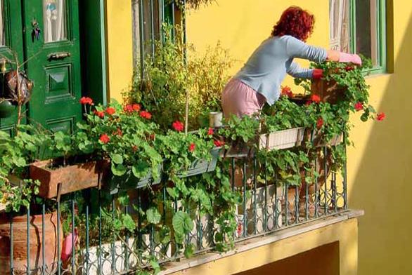 Balkony a terasy podle feng-šuej