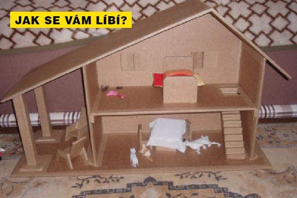 PEL-MEL: Dům z kartonu na hraní
