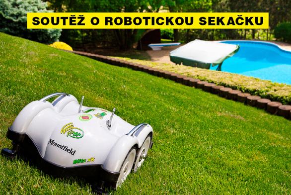 Vyhrajte robotickou sekačku s dokovací stanicí!