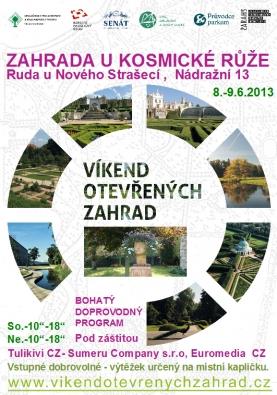 Plakát   Víkend otevřených zahrad