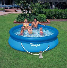 Bazén Tampa je vhodný zejména pro menší ratolesti.