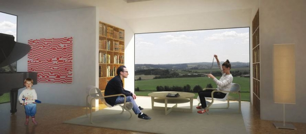 Vítězný projekt kategorie rekonstrukce nabízí obyvatelům bydlení s vysokým komfortem jak z pohledu množství denního světla, výhledu i prostoru.