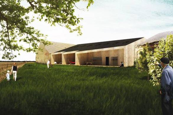První místo vkategorii novostaveb získal projekt Inventura archetypu studenta Fakulty architektury VUT vBrně, Norberta Obršála.