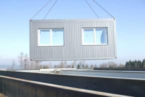 Modulové obytné kontejnery