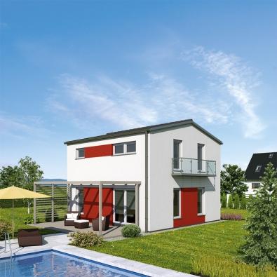 Nový rodinný dům UNO II. v provedení s červenou
