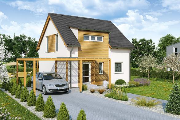 Nový rodinný dům UNO I. s obkladem palubkami