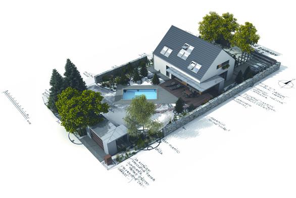 Společnost G SERVIS CZ dávno získala na českém trhu postavení jedničky v kategorii typových projektů rodinných domů.