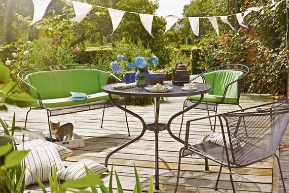 Zahradní nábytek pro stylový požitek