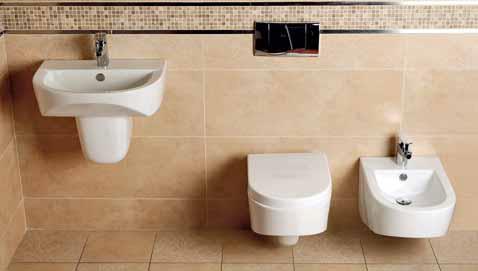 Kolekce sanitární keramiky Montanaro od italského výrobce Glacera je určena pro malé koupelny a je inspirována tvary horských štítů. K dostání exkluzivně v síti SIKO koupelny, ceny od 1 490 Kč.