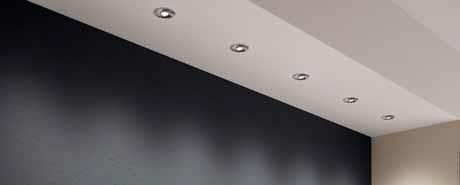 Bodové osvětlení pracovní plochy lze výhodně řešit pomocí LED svítidel (OSRAM).