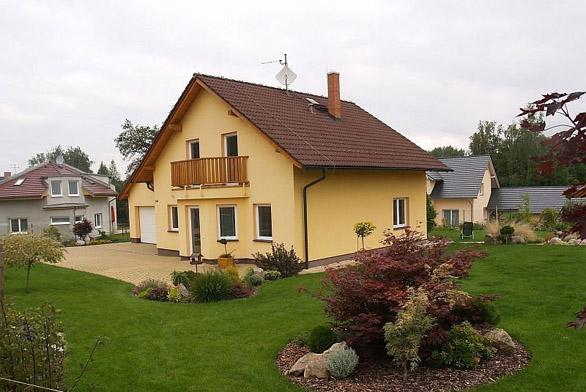 Akční ceny domů a základových desek (ilustrační fotografie)