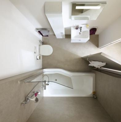 Kolekce je kompletována různými typy koupelnového nábytku, který díky své variabilitě a rozmanitosti dokáže vytvářet elegantní a přitom velmi účelný prostor.