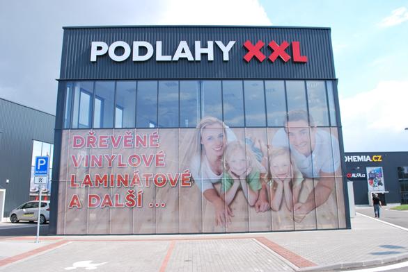 Prodejna krytin Podlahy XXL v Brně