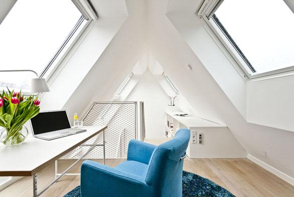 Prosvětlete si podkroví střešními okny VELUX (bezúdržbová střešní okna GGU).