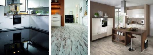 Laminátové podlahy Witex a PVC Tarkett.