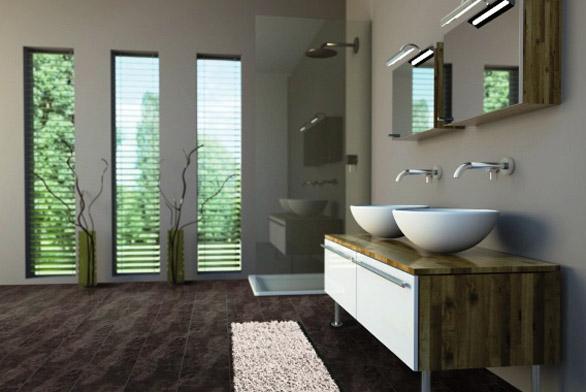 Podlahové krytiny do kuchyně a koupelny